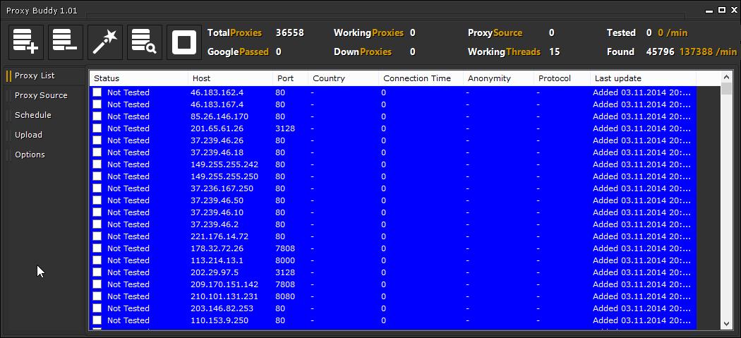 Proxy Buddy Version 1.01