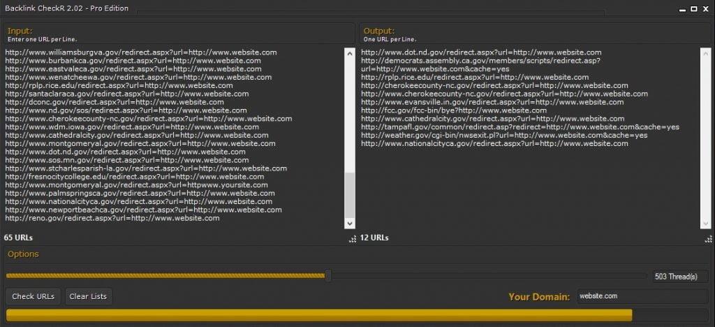 Backlink CheckR 2.04